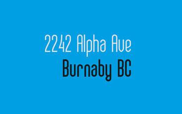 2242 Alpha Ave, Burnaby, BC