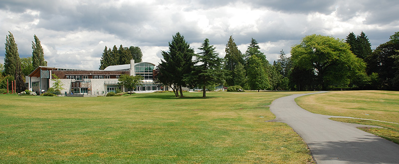 Burnaby neighbourhood Shadbolt Centre